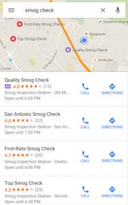 ローカル検索広告(アプリ)